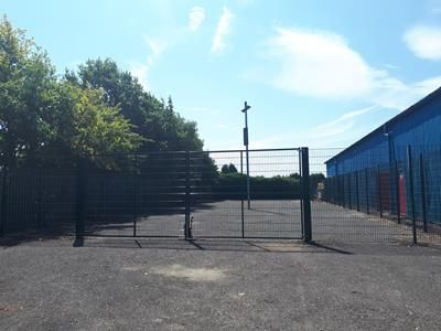 Thumbnail Land to let in Compound Land, The Croft Industrial Estate, Hardwick Lane, Sutton In Ashfield, Nottinghamshire