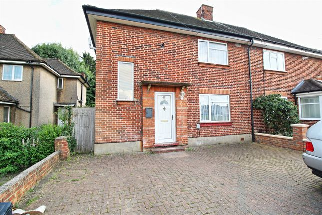 Thumbnail Semi-detached house for sale in Beatty Road, Stanmore, Middlesex