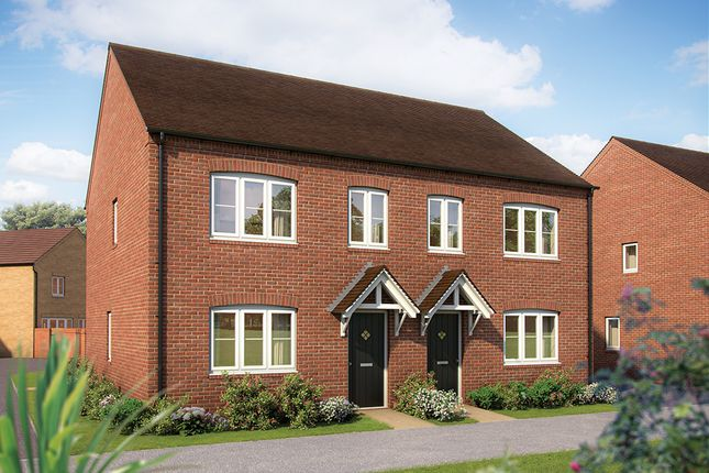"Thumbnail Semi-detached house for sale in ""The Hazel"" at Sowthistle Drive, Hardwicke, Gloucester"