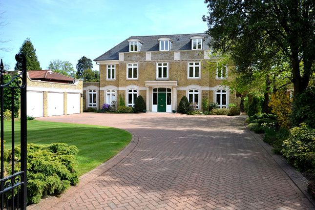 6 bed detached house for sale in Broadwater Road South, Burwood Park, Hersham, Walton-On-Thames