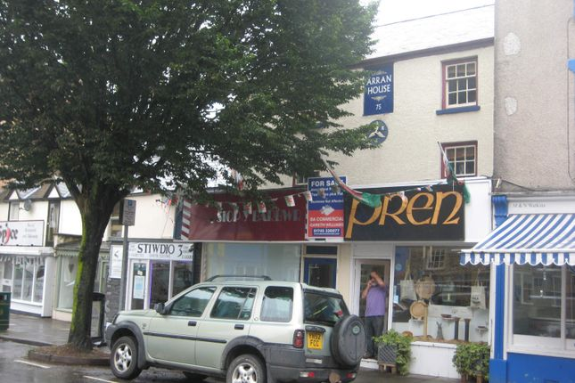 Thumbnail Commercial property for sale in 71/73/75 High Street, Bala