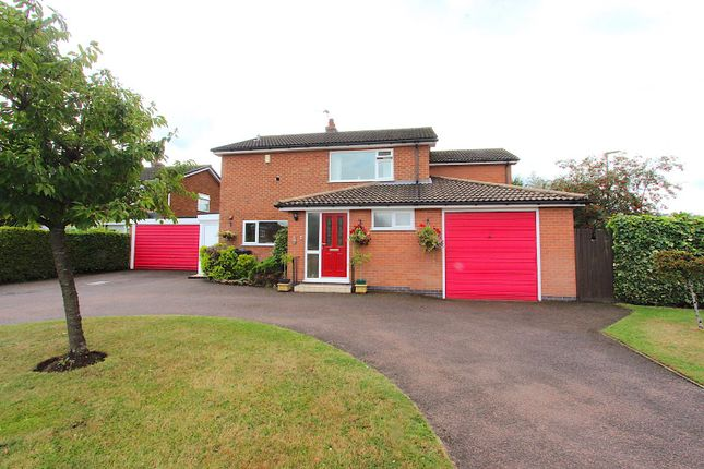 Thumbnail Detached house for sale in Parkstone Road, Syston, Leicester