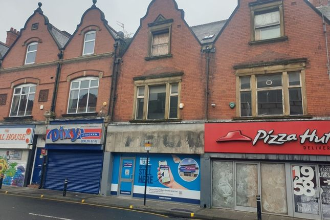 Thumbnail Retail premises for sale in Whitley Road, Whitley Bay