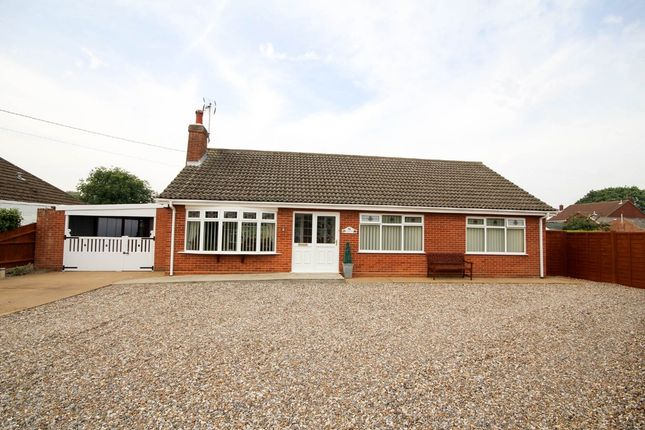 Thumbnail Detached bungalow for sale in Ormesby Road, Hemsby, Great Yarmouth