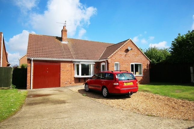 Thumbnail Detached bungalow for sale in Smithdale Close, Spalding