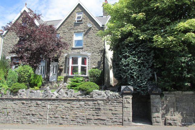 Thumbnail Semi-detached house for sale in Penydarren Road, Penydarren, Merthyr Tydfil