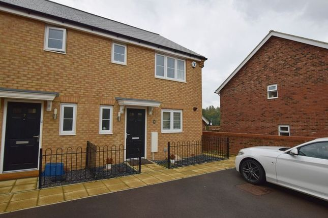Thumbnail 3 bedroom end terrace house for sale in Hereford Way, Whitehouse Park, Milton Keynes