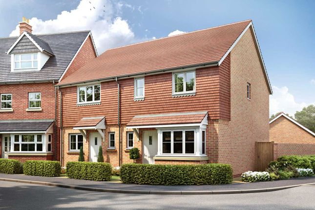 """Thumbnail Terraced house for sale in """"The Winchester"""" at Eagle Avenue, Cowplain, Waterlooville"""