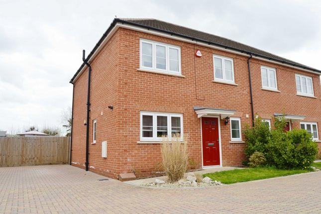 Semi-detached house for sale in Reginald Road, Harold Wood, Romford
