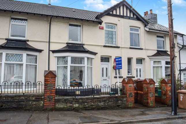 Thumbnail Terraced house for sale in Station Road, Ystrad Mynach, Hengoed