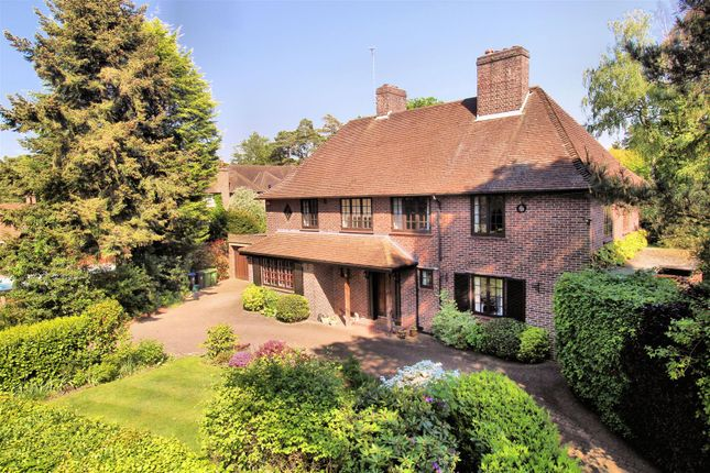 Thumbnail Detached house for sale in White Pillars, Holly Bank Road, Hook Heath, Woking