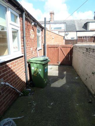 Rear Yard of Londonderry Street, Silksworth, Sunderland SR3