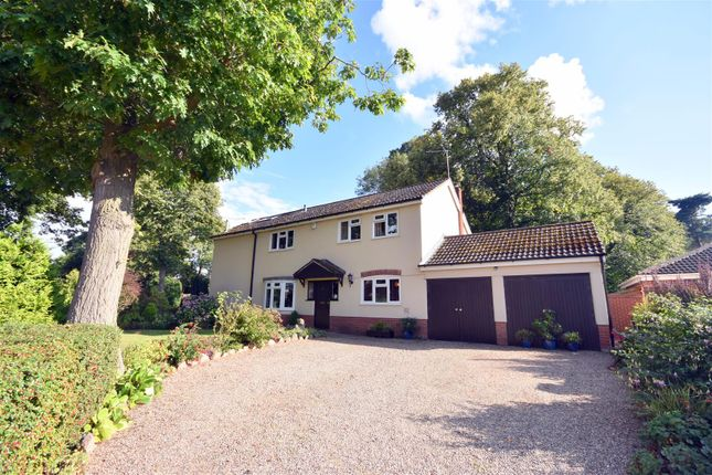 Thumbnail Detached house for sale in Northage Close, Quorn, Loughborough