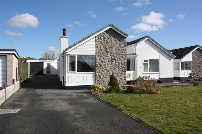 Thumbnail Detached bungalow for sale in Pant Lodge Estate, Llanfairpwllgwyngyll