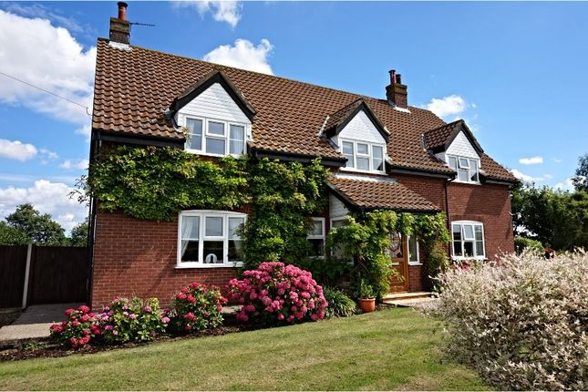 Thumbnail Detached house for sale in Dereham Road, Thuxton, Norwich