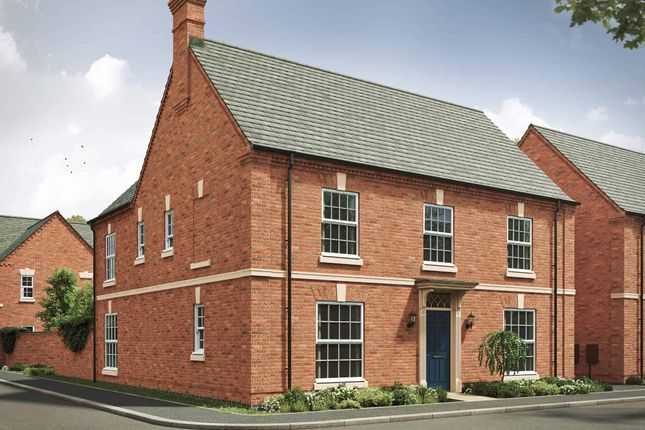 """Thumbnail Detached house for sale in """"The Winchester Georgian 4th Edition"""" at Ratcliffe Road, Sileby, Loughborough"""