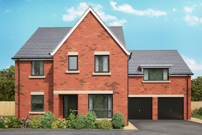 Thumbnail Detached house for sale in Off Great North Road, Morpeth, Northumberland