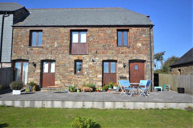 Thumbnail End terrace house for sale in Stockadon Barns, St Mellion, Saltash, Cornwall