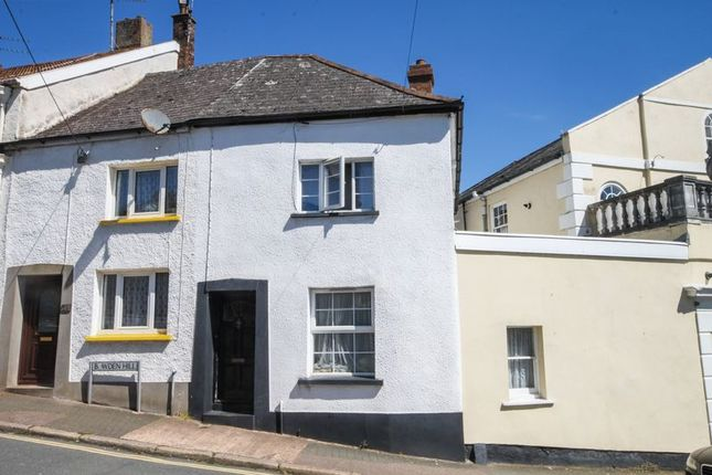 Thumbnail End terrace house to rent in Bowden Hill, Crediton