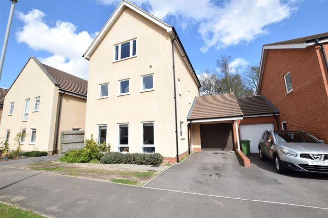 Thumbnail Detached house for sale in Lysander Drive, Bracknell, Berkshire