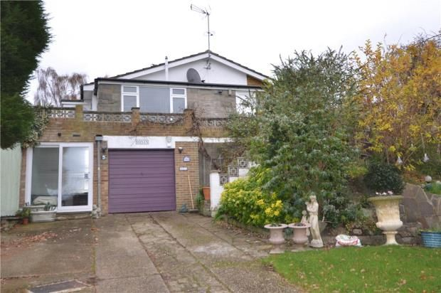 Thumbnail Detached house for sale in Yew Tree Walk, Frimley, Camberley