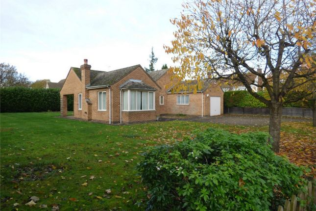 Thumbnail Detached bungalow for sale in Longthorpe Green, Peterborough, Cambridgeshire