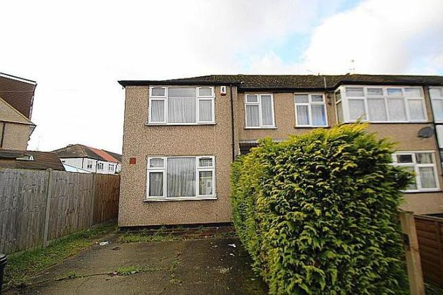 Thumbnail End terrace house to rent in Midhurst Gardens, Middlesex