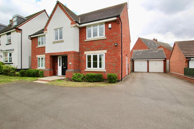Thumbnail Detached house for sale in Padside Close, Leicester