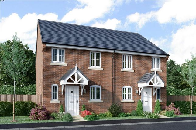 "Thumbnail Semi-detached house for sale in ""Clifton"" at Stourbridge Road, Parkgate, Kidderminster"