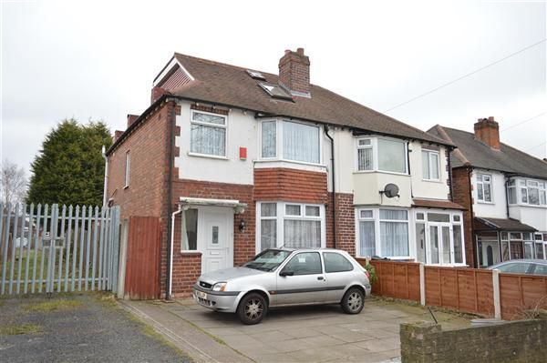 Thumbnail Semi-detached house for sale in Foden Road, Great Barr, Birmingham