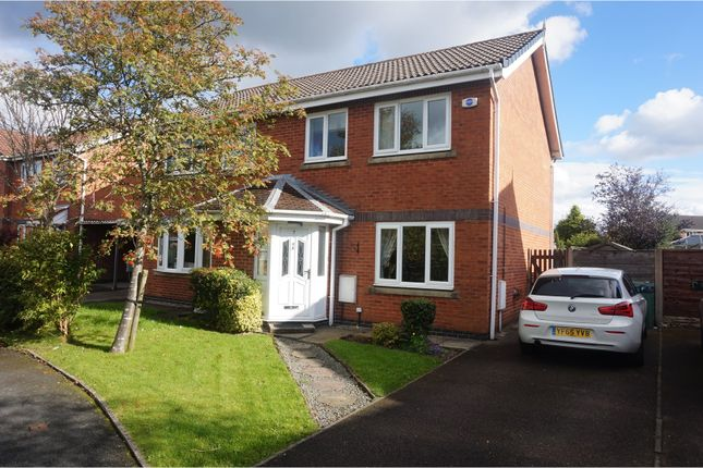 Thumbnail Semi-detached house to rent in Haseley Close, Manchester