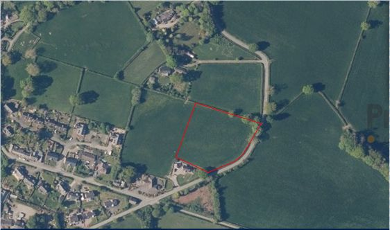 Thumbnail Land for sale in Pont Robert, Meifod