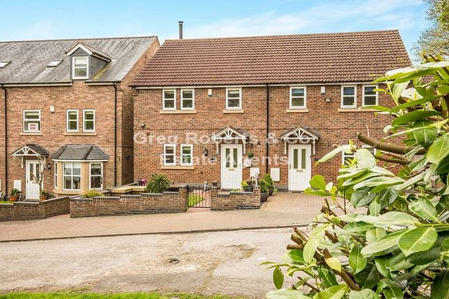 Thumbnail Semi-detached house for sale in Hollyhurst Court, Riddings, Alfreton, Derbyshire.