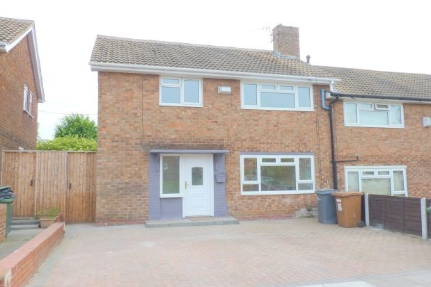 Thumbnail End terrace house to rent in Prenton Hall Road, Prenton