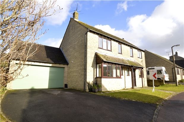 Thumbnail Detached house for sale in Greys Close, Bussage, Stroud, Gloucestershire