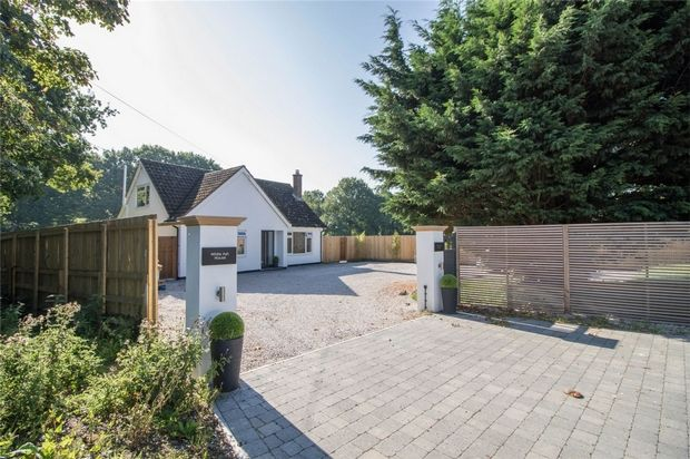 Thumbnail Detached house for sale in Gosfield Road, Braintree, Essex