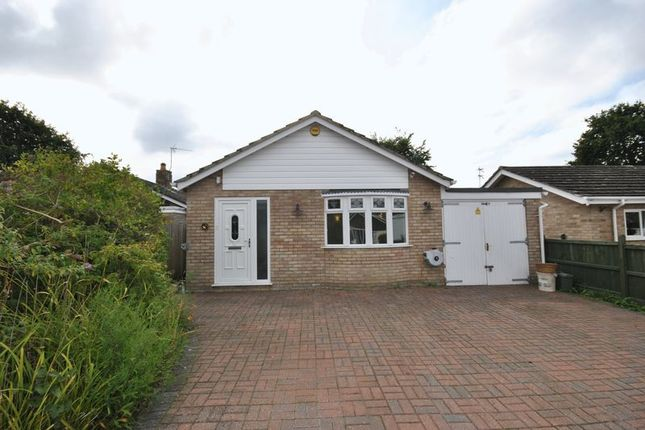 Thumbnail Detached bungalow for sale in Lancaster Close, Old Catton, Norwich