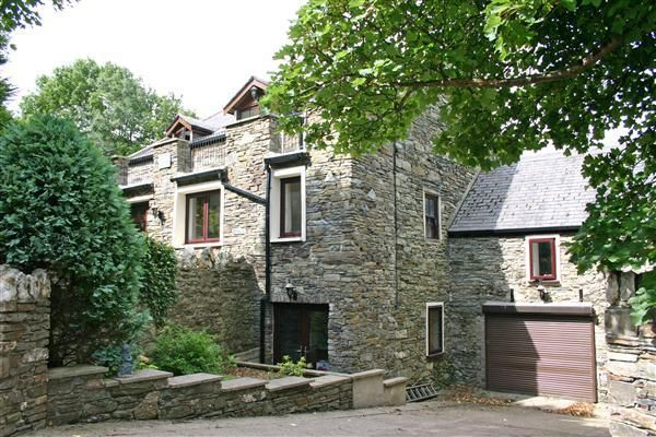 Integral Garage of The Old Mill, The Corony, Maughold IM7