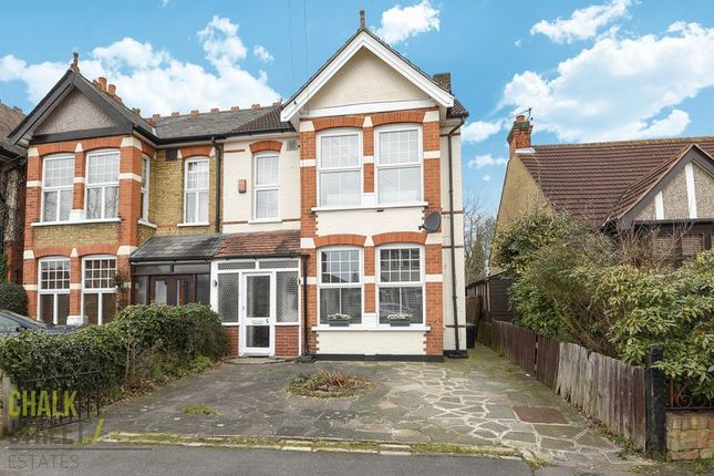Thumbnail Semi-detached house for sale in Lawrence Road, Gidea Park