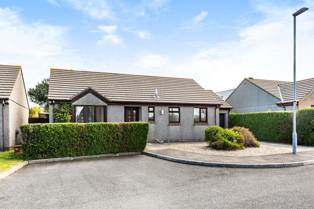 Thumbnail Detached bungalow for sale in Treloweth Way, Pool, Redruth, Cornwall