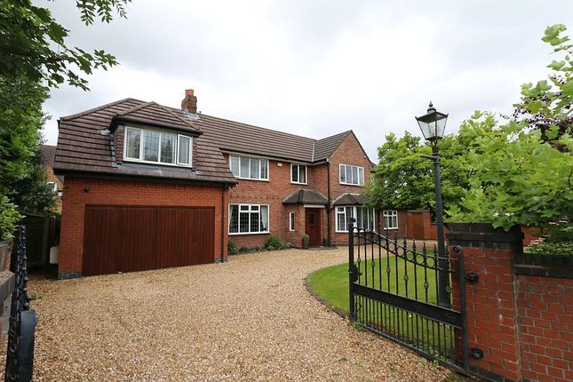 Thumbnail Detached house for sale in Common Lane, Culcheth, Warrington, Cheshire