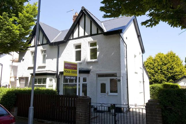 Thumbnail Semi-detached house to rent in 34, Lancefield Road, Belfast