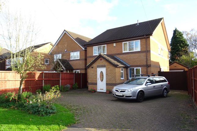 Thumbnail Detached house for sale in Church Lane, Whitwick, Leicestershire