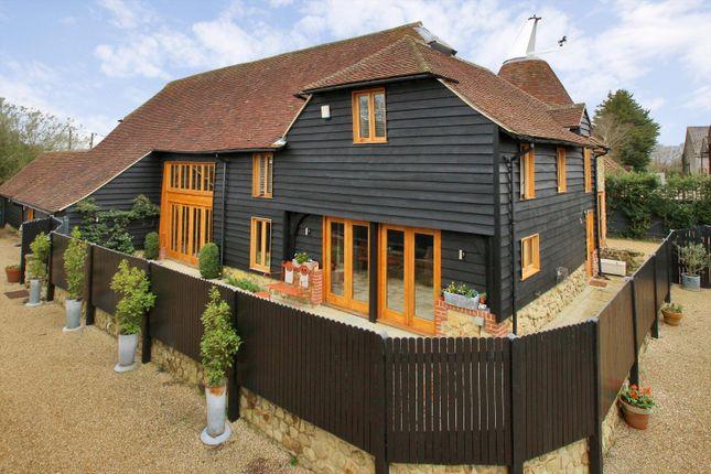 Thumbnail Barn conversion for sale in Hilders Lane, Edenbridge, Kent