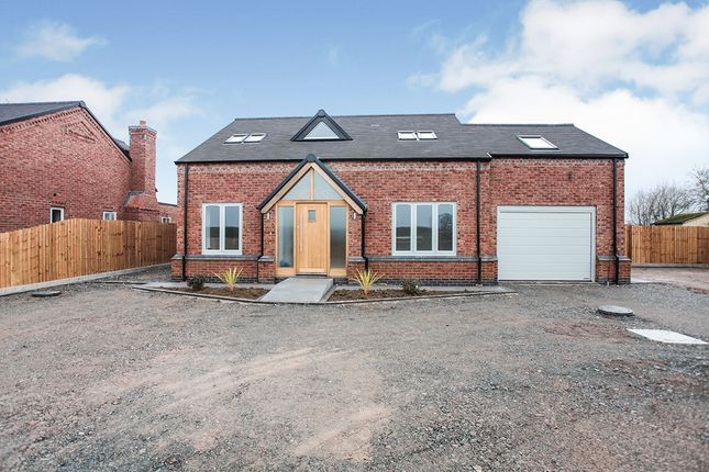 Thumbnail Detached house for sale in Bayton Views, Withybrook Road, Bulkington, Bedworth