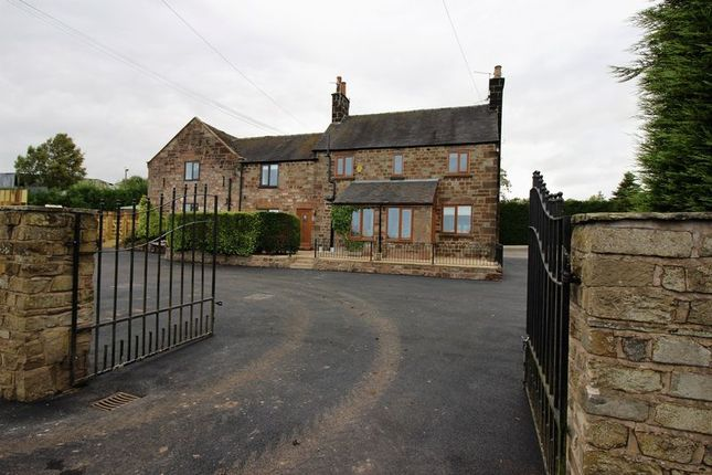 Thumbnail Detached house for sale in Ostlers Lane, Cheddleton, Near Leek, Staffordshire