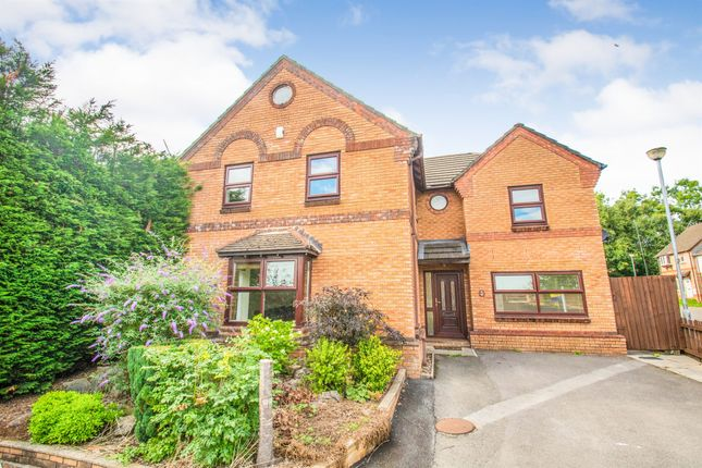 Thumbnail Detached house for sale in Clos Y Blaidd, Thornhill, Cardiff
