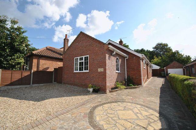 Thumbnail Detached bungalow for sale in Sandy Lane, Taverham, Norwich