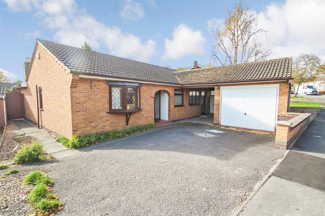 Thumbnail Detached bungalow for sale in Garland, Rothley, Leicester
