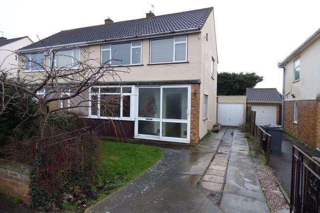 Thumbnail Semi-detached house for sale in Bradley Avenue, Winterbourne, Bristol, Gloucestershire